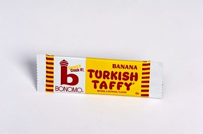 Banana Bar Bonomo Turkish Taffy
