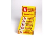 Box Bonomo Turkish Taffy Bars Banana