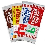 Eight (8) Pack of Bonomo Turkish Taffy Bars