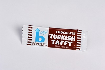 Chocolate Bar Bonomo Turkish Taffy