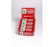 Box Bonomo Turkish Taffy Bars Strawberry