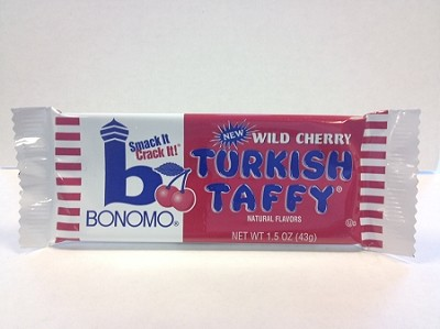 Wild Cherry Bonomo Turkish Taffy