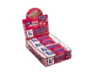Box Bonomo Turkish Taffy Bars Wild Cherry